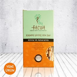Fitcuit Kepekli Pirinç Mix Bar 25g